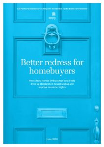 Better redress for homebuyers