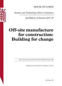 Offsite manufacture for construction